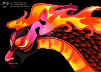 Black Fire by Dragonfoxgirl