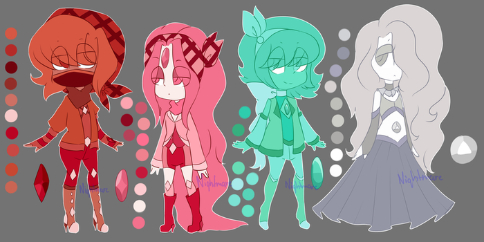 / Gem Adopts / Auction / OPEN / 2/4 / by p-pink