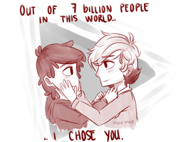 I Chose You by maeven3