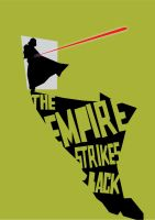 Empire Strikes Back poster by MarcusMarrittArt
