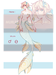 MERMAID ADOPTABLE (SOLD) by NachtigallSoSad