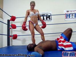 IFBB Sheila Rock Defeats Darrius - Boxing by boxingwrestling