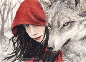 Red Riding Hood by libellchen
