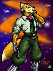 Fox McCloud by The-Nut