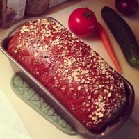 Honey Oat Bread by Deathbypuddle