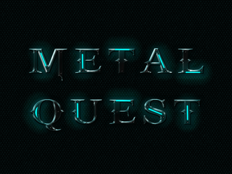 Futuristic Screwed Metal text effects by conbagui