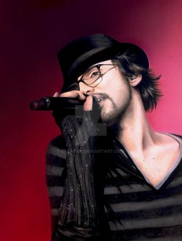 Christophe Willem .PAINTING. by escafan