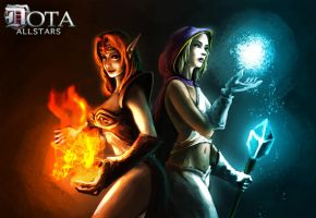 DOTA: of Fire and Ice by CELENG