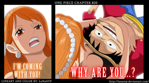 One Piece - Chapter 820 - Im Coming With You by LuNaOTP