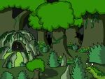 Green theme forest by FrostSnail