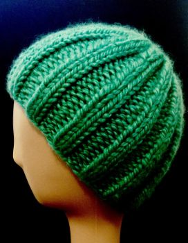 Ribbed Beanie Hat by LostKitten