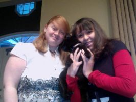 me, Isis, and my cousin Amanda by cat55