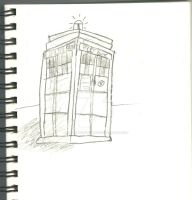 The TARDIS! by TheNowhereManLives