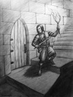 Rogue on the Stair by Neothera