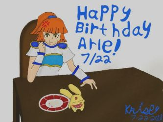 Happy birthday Arle (2018) by krispy1264