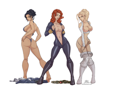 Ladies of Shield by Chadwick-J-Coleman