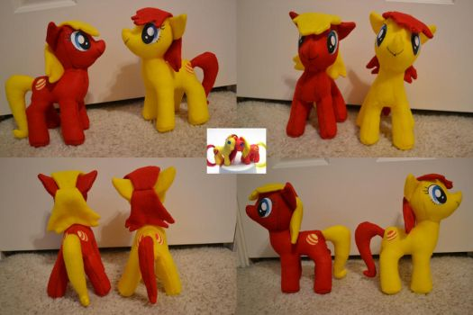 Samba and Rumba (MLP Plushie Contest) by Shadow-Sister