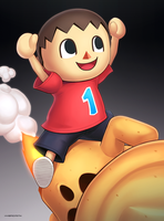 Villager (Ultimate) by hybridmink