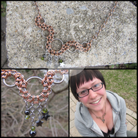 Modified Bubble Charm Necklace by ArmoredKoi