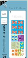 Pattern Pack - Funky Bits 01 by MouritsaDA-Stock
