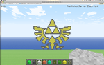 Minecraft Pixel - Triforce by Gem-A-Knight