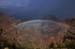 Grand Canyon Rainbow by Tanager