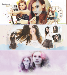 my last 3 graphics [holland roden,lucy hale] by huruekrn-ackles