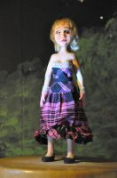 Selinda- stop motion puppet by NickMears