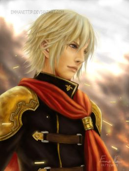 Ace from FINAL FANTASY Type 0 by EmmaNettip