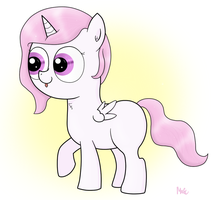 Before she was a princess... by Mascimus