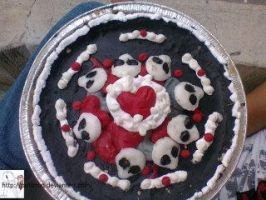 birthday skullberry pie : by me by puticron
