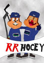 RR Hockey colored by EgonEagle