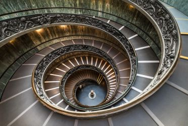 The Vatican Spiral Staircase by Valy20007