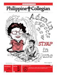 Philippine Collegian issue 25 by kule-0809