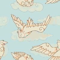 Togekiss Tiling Wallpaper