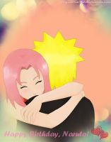 Happy B'day, Naruto by glaysmerm4id