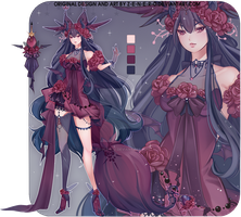 [ADOPTABLE- CLOSED] Wira XX by Z-E-N-E-R-O