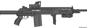 Mk 18 Battle Rifle REMASTERED by Super6-4