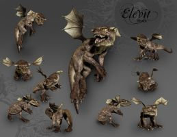 E-S Baby Dragon by Elevit-Stock