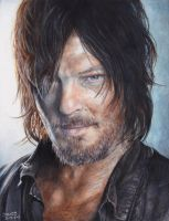 The Walking Dead- Daryl Dixon by Kelii