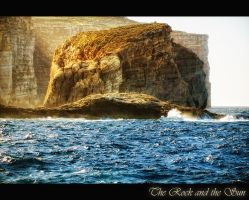 The Rock and the Sun by calimer00
