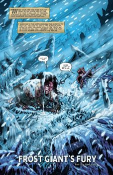 DnD Frost Giant's Fury #4 page 1 by NethoDiaz