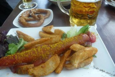 Currywurst and other indulgences by nosugarjustanger