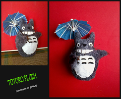 Totoro plush by MaryShan