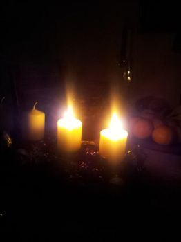 Candles in the Dark by PrimeBee1360