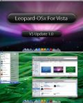 Leopard OSX for Vista Update 1 by Dee-A