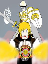 Its Morphin Time -Jaune- by RedPegasus237