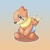Buizel by moonwaveumbreon