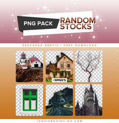 Pack PNG #15 - Random Stocks by xPEGASVS
