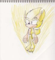Colored Super Sonic by TableJeb23